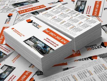 Visitenkarten Für Ertosic Grafikdesign Augsburg Süd